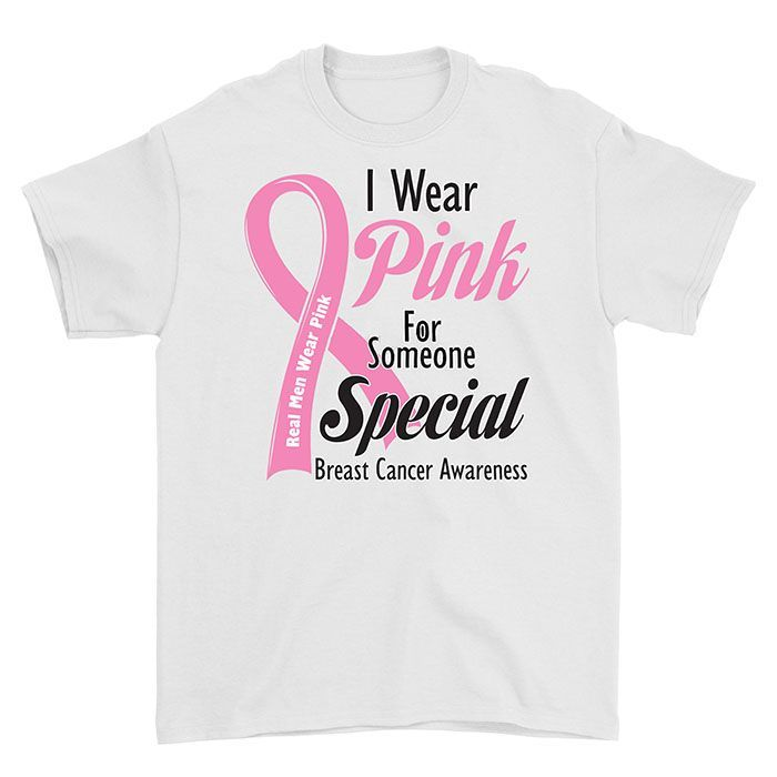 I Wear Pink for Someone Mens Womens T-Shirt Top